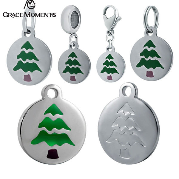 Christmas Tree Emoji.2018 316l Stainless Steel Charms Accessories Diy Emoticon Charm Christmas Tree Emoji Charms For Necklace Jewelry Making From Haoyunduo 32 83