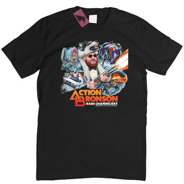 ACTION BRONSON - RARE CHANDELIERS ALBUM ART HIP HOP RAP T-SHIRT TEE S - 3XL Streetwear Funny Print Clothing Mans T-Shirt Tops Tees