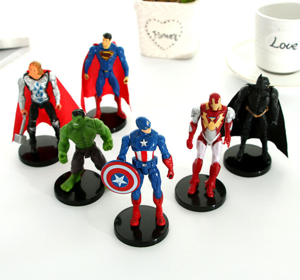 Action Figures League of Legends creative toys Avengers movable model hand office anime around doll ornaments