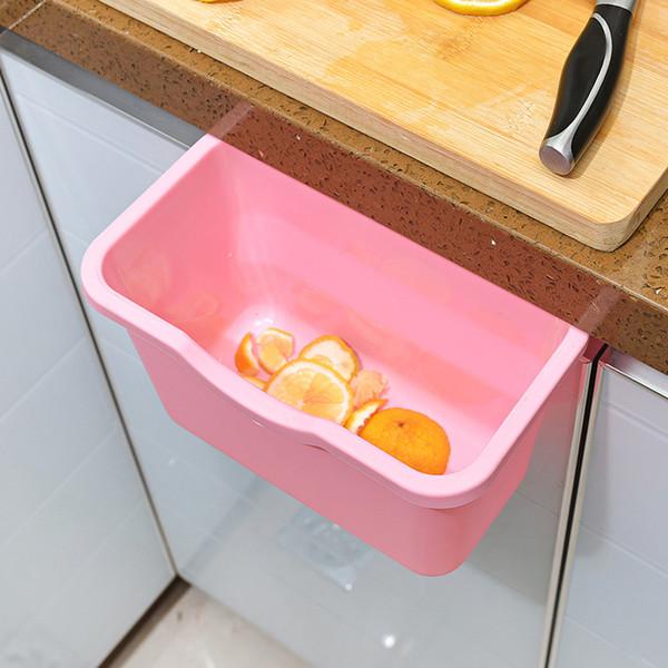 Cucina calda Scatole di immagazzinaggio della spazzatura Porta di ambra Sospensione Sospesa Barilotti Scatole Organizzatori Porta spazzatura