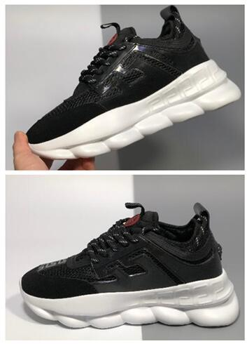 2019 2 Chainz Chain Reaction Shoe,Over The Top Bulky Sneaker , Print Mix Achilles Sneaker,Chain Reaction Sneakers Black Training Running Shoe From ...