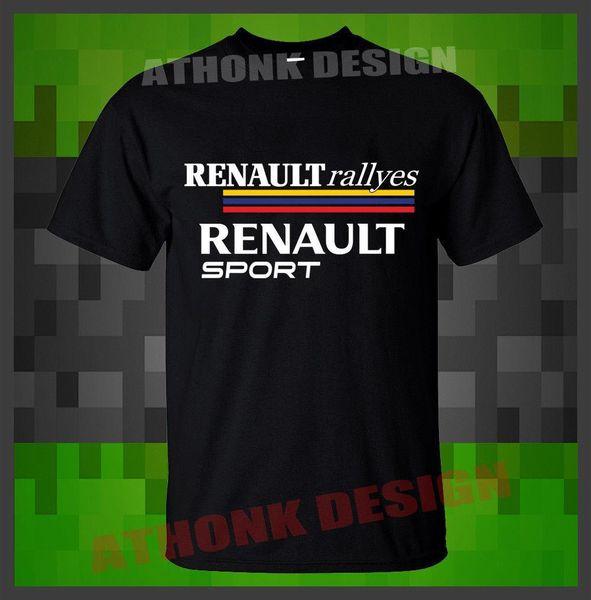 NUOVA T-SHIRT RENAULT SPORT T-SHIRT RENAULT RALLYES estate Vendita calda New Tee Print T-Shirt da uomo Top