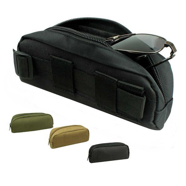 Molle Sunglasses case Eyeglasses Bag Tactical Military Men Belt Glasses Pouch