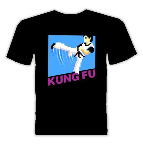 Kung Fu NES Video Game T shirt Cartoon t shirt men Unisex New Fashion tshirt Loose Size top ajax 2018 funny t shirts 100%