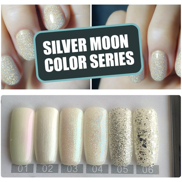 YIFEI 10ml Bling Glitter Gel Nail Polish For Nail Extension Design Diamond Star Moon Sequins Gel Art UV LED Lacquer