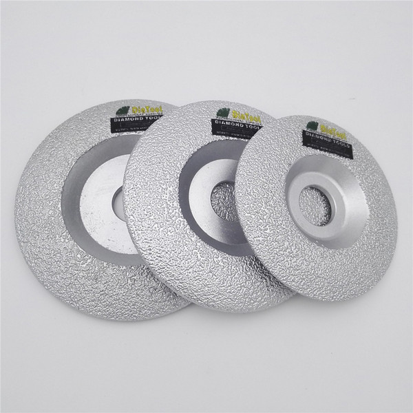 """top popular DIATOOL 1pc Diameter 4"""" 100mm 4.5"""" 115mm 5"""" Vacuum Brazed Diamond Grinding Cup Wheel Cutting Disc for all Stone and Construction Material 2021"""