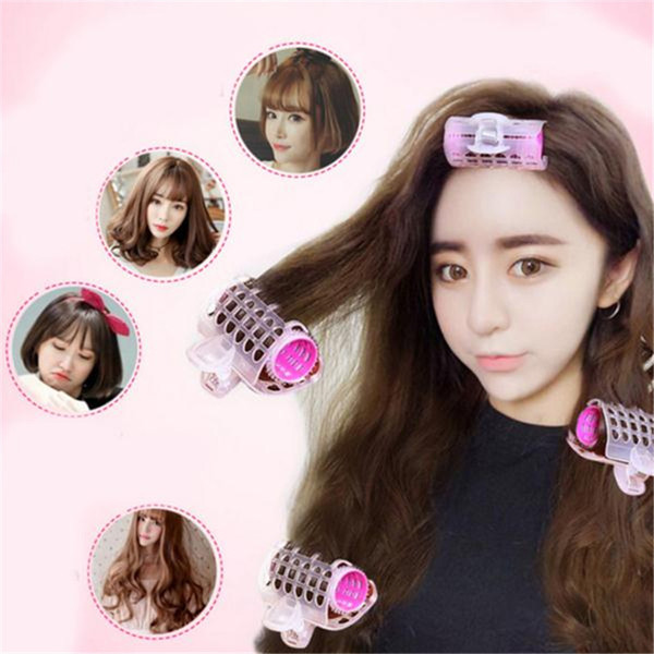 3PCS/Set Plastic Hair Curler Roller Large Grip Styling Roller Curlers Magic Hair Curlers Tools Styling Home Use Rollers