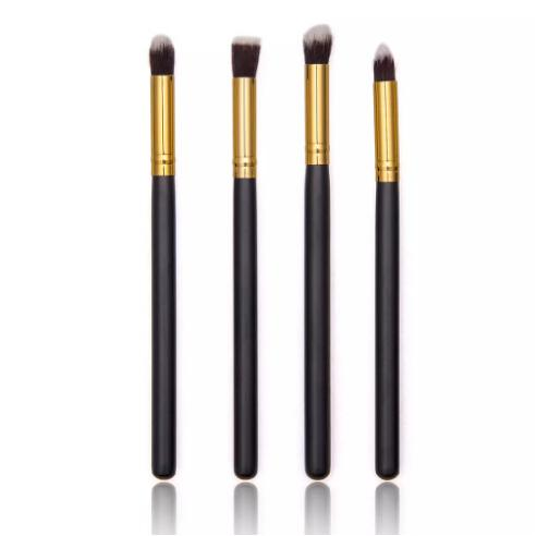 Wholesale Fashion 4 Pcs Soft Makeup Cosmetic Eye Brushes Set Eyeshadow Blend pencil Make Up Brush Sets Kit Tools