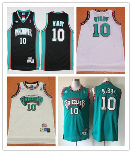 huge discount 18216 dbedd 2019 Retro Mens 10 Mike Bibby Memphis Jersey Grizzlies Basketball Jerseys  Authentic Stitched Vancouver Mike Bibby Retro Basketball Jersey From ...
