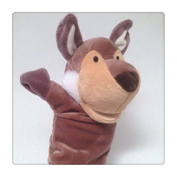 Wholesale A Lovely Soft Animal Hand And Puppet That Can Tell A Story Parent-child Interaction Finger Playing Puppet Hot Sale