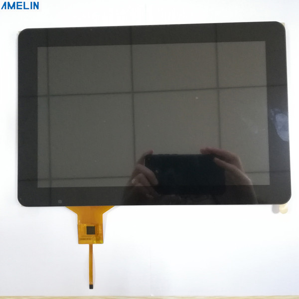 Sunlight readable 10.1 inch 1280*800 IPS TFT LCD module display with LVDS interface screen and touch panel