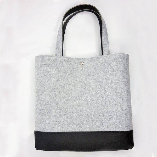 2018 New Design Women Handbag Felt Large Capacity Lady Shopping Bag Totes top quality Bolsa Feminina Shoulder Bags