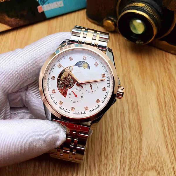 2018 New Luxury stopwatch sport Watch women Casual Fashion Skeletedfon quartz watch free2