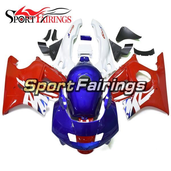 Blue Red White Motorcycles Injection Fairings For Honda CBR600F3 95 96 1995 1996 ABS Plastic Fairing Kit Bodywork New Arrive