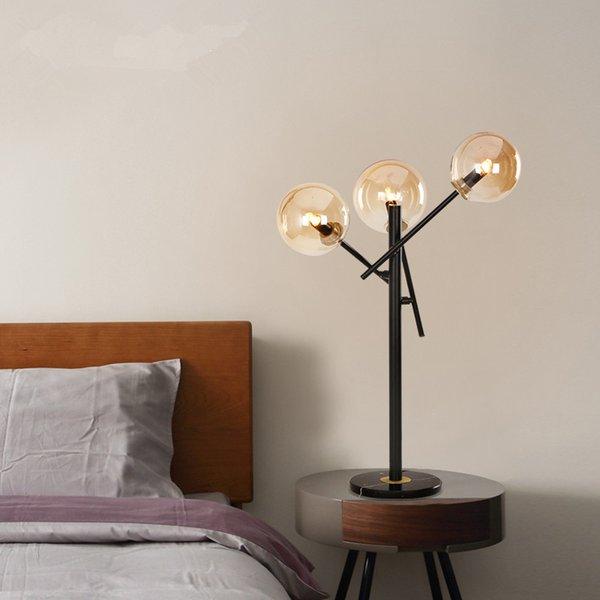 ddf86651f0df0 H160cm Art Decorative 3 lights 110v 240v G9 LED amber glass floor lamps  bedroom living room hotel project led standing lamps