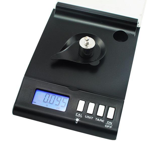Freeshipping Nueva precisión 1mg Escala digital 0.001g x 30g Recarga de gema en polvo joyería de laboratorio