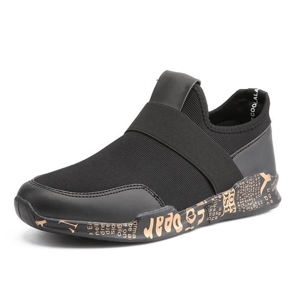 Nueva York 4ca23 c25f4 Compre NUEVOS Zapatos Ocasionales De La Llegada Sin Cordones Zapatos  Blancos Y Negros De La Manera De Lujo Del Diseñador Zapatos Altos  Superiores De ...