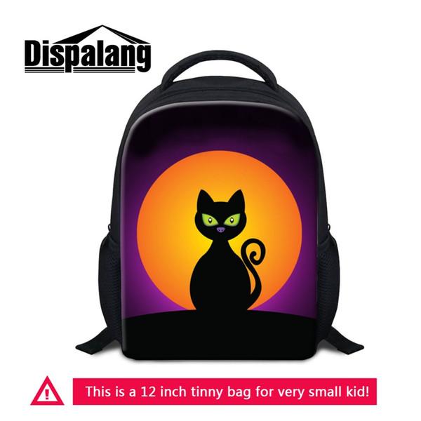 Personalized Custom Design Kids Kindergarten School Bags Animal Cat Backpacks For Little Boys Girls Children Travel Bag Rucksack