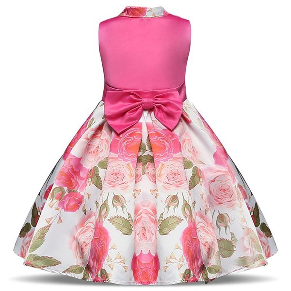 Baby Child Summer Dress Infant Princess Party Dresses Girl Birthday Outfits Kids Dresses For Girls Clothes Children Casual 8T