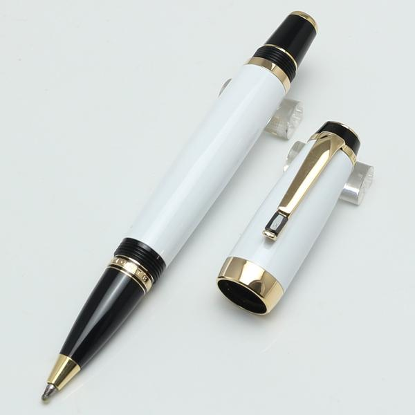 Luxury New Arrive bleu resin white fountain pen stationery office school MB pen for writing for sale