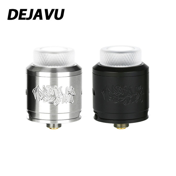 DEJAVU RDA Tank Atomizer with Opened 4-tube Bottom Airflow Electronic Cigarette RDA Tank Atomizer