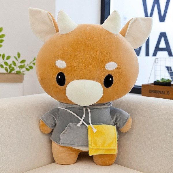 2018 New 35cm Cattle Plush Doll Whats Wrong With Secretary Kim Korean TV Drama Show Cushion Kids Gift