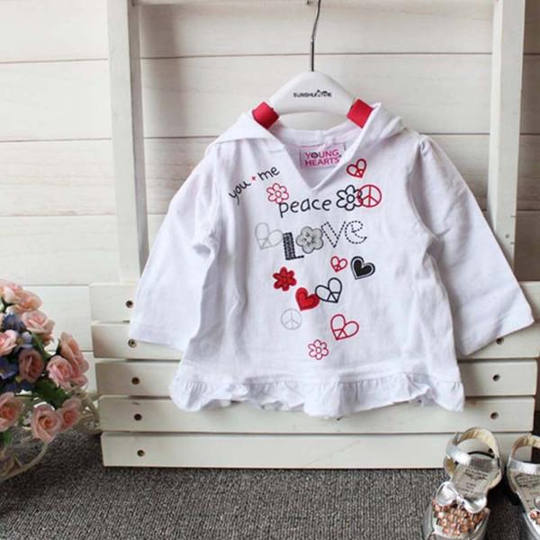 Unisex Baby Fashion Tee I Hate You T-Shirt 6M-24M