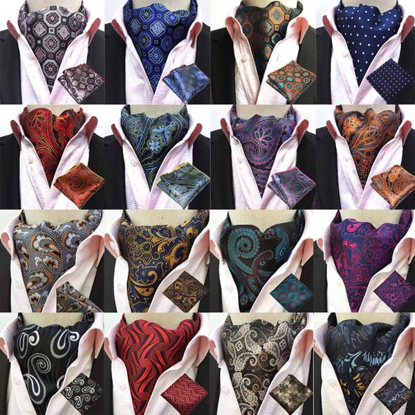 Hochzeit Herren Ascot blau Herren Cravat Tag Cravat Ascot Krawatte