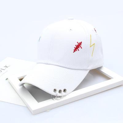 21 # XX tre anelli + cappello bianco JX119