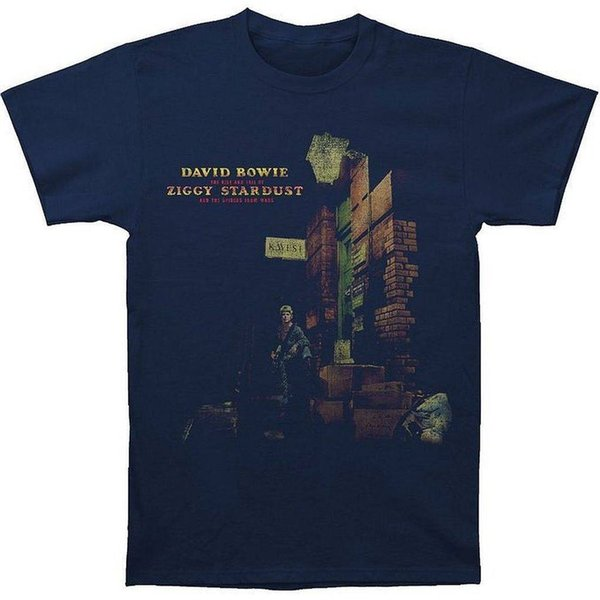 David Bowie Ziggy na rua cabido t-shirt SM, MD, LG, XL, XXL Novo