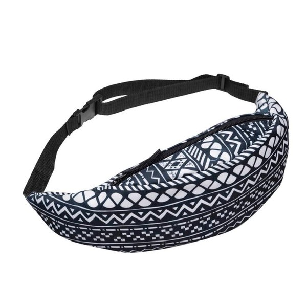 Unisex Waist Bag Fashion Belt Waist Chest Packs Pouch Polyester Zipper Fanny Pack Gift Wholesale Drop Ship LP