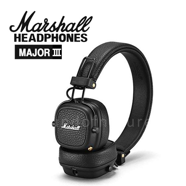 2018 Date Marshall Major III 3.0 Casque Bluetooth Avec Micro Basse profonde Hi-Fi DJ Casque Sans Fil Major 3 Professionnel pour iphone XS Plus