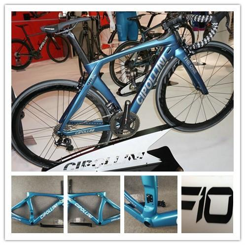 Custom signature Cipollini RB1K THE ONE Ottanio Shiny Rahmenset Carbon Road Complete Bike Bicycle With Ultegra 5800 R8000 Groupset