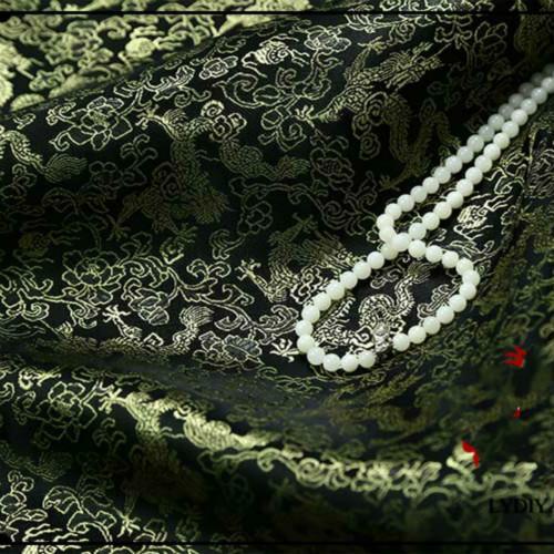 Dragon d'or fond noir