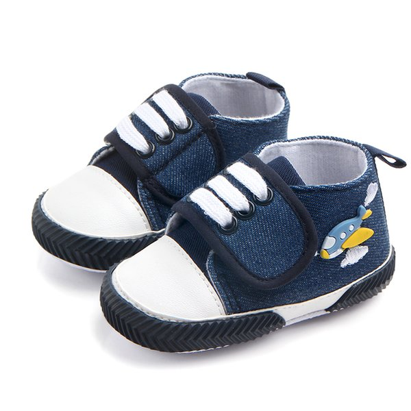 Cute Butterfly 3D Cartoon Design Canvas Glue Edge Soft Sole High-top Hook&loop Infant Baby Girl And Boy Shoes Casual Shoes