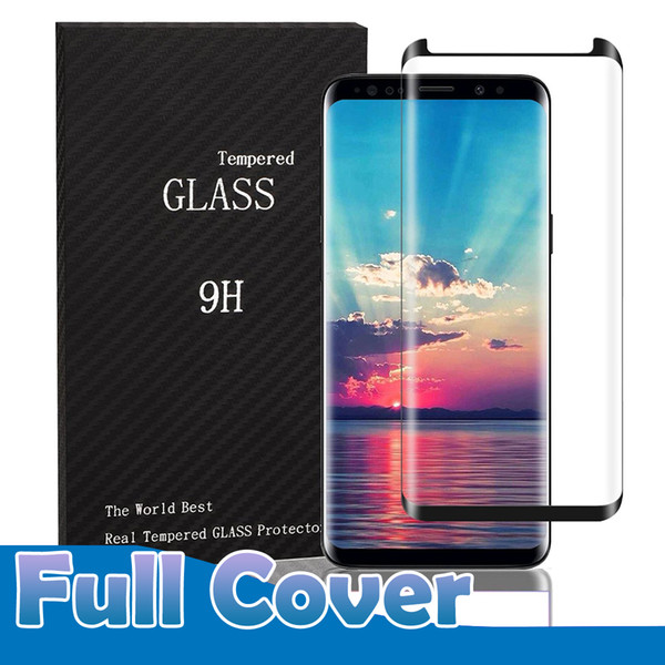 For am ung galaxy 10 plu 9 plu 8 note 9 note8 7 6 edge plu ca e friendly full cover 3d curved tempered gla creen protector