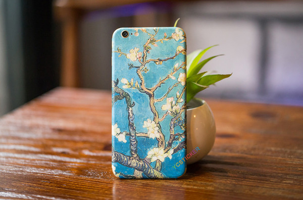 Decal Skin For iPhone Sticker Full Protective Film Decal For iPhone 6 6S 7 Plus 8 Plus X Film Shell