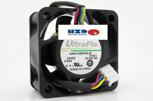 best selling Original NIDEC 4020 4CM U40G12BS8A5-57 12V 0.54A smart thermostats 4-wire fan 6025 12v 0.16a u60t12mub7-52