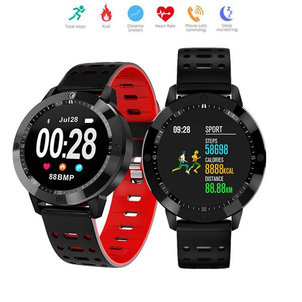 CF58 intelligente Guarda Monitoraggio della frequenza cardiaca modalità multi-sport intelligente Wristband braccialetto dell'orologio impermeabile