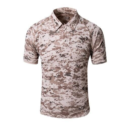 Camping Hiking Cloth Men's Camouflage Quick-drying Breathable Sport Outdoor Camping&Hiking T-shirt Men Sport Shirt Plus Size