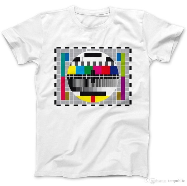 Christmas Shirt Sayings.New T Shirt Fashion T Shirts Short Test Pattern Test Card T Shirt 100 Premium Cotton Sheldon Retro Tv Crew Neck Christmas Shirt Original T Shirts T
