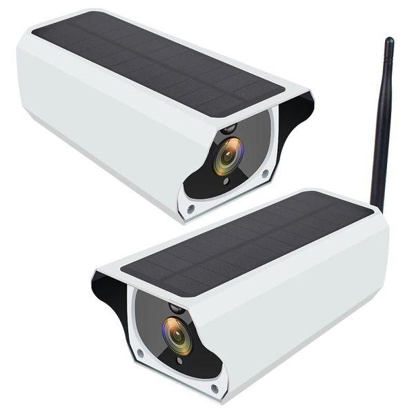 2MP 1080p wifi caméra solaire IP caméra CCTV caméra de sécurité 64GB TF carte H.264 ip