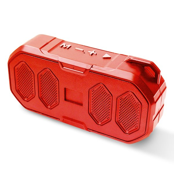 Portable Wireless Bluetooth Speaker Handsfree Heavy Bass Stereo Loud Armored speakers Boombox Sound box Support TF and USB FM Radio