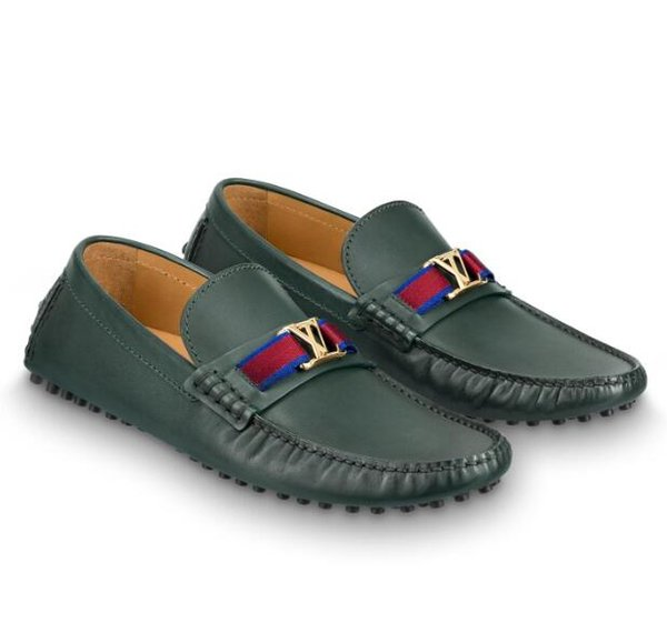 vvtisks9 1A44S1 HOCKENHEIM MOCCASIN GREEN Men Moccasins Loafers Lace Ups Monk Straps Boots Slippers Drivers Sandals Slides Sneakers Dress