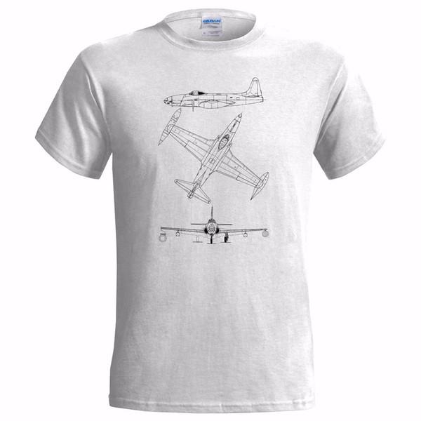 LOCKHEED P80 падающая звезда TECH DRAWING мужская футболка самолет истребитель USAFFunny бесплатная доставка мужская случайный топ