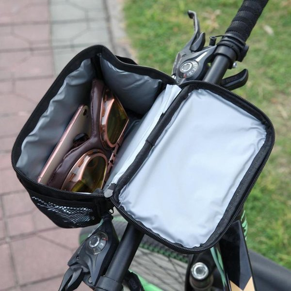 Bike Bag Bicycle Front Handlebar Bags Touch Screen Phone Holder MTB Road Bike Case Bicycle Accessories Cycling Pouch