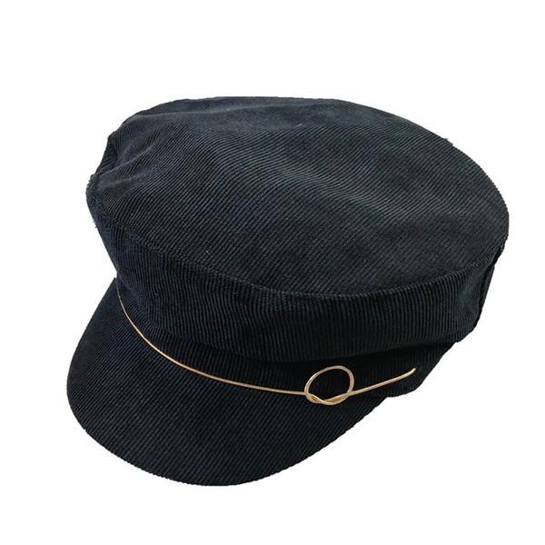 new female Korean British octagonal cap tide Japanese painter hat pumpkin hat leisure wild hat for women