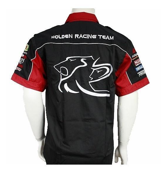 NEW 2018 brand men F1 shirt horton casual summer club team car suit original overalls off road shirts motocross jacket