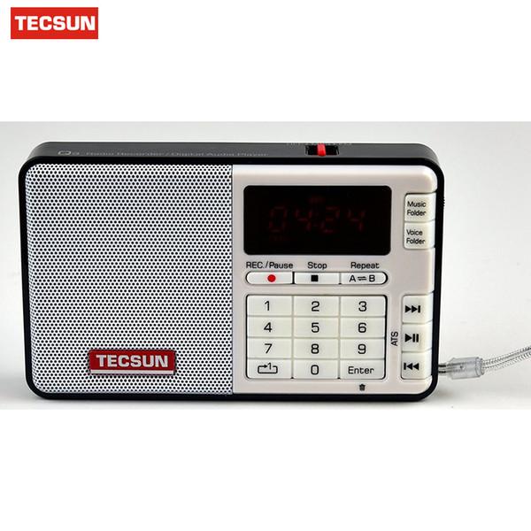 Free Shipping TECSUN Q3 FM Stereo Pocket Size Recorder MP3 Player Radio FM 76-108