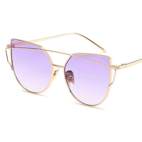 2f4d69f6e2a90 Direto Óculos Por Atacado Melhor Marca de Moda Quente Óculos De Sol  Colorido Mulheres Óculos de